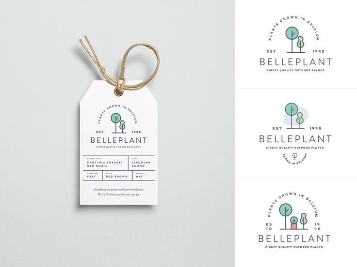 Plants Branding by Gil  #Design Popular #Dribbble #shots