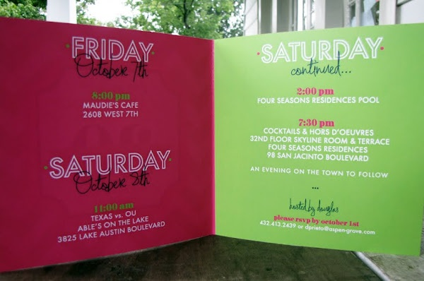 bday weekend itinerary    love this idea for bday away