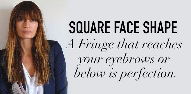 Ever wanted to take the leap and rock some bangs but not sure what best suits your face shape? Follow this simple and quick guide below!