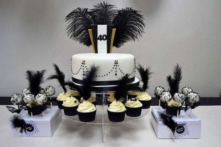 1920's inspired Gatsby Style cake                                                                                                                                                                                 More