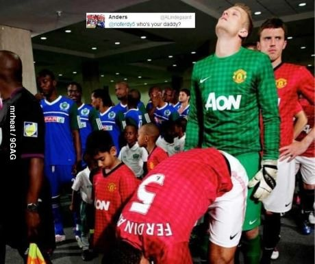 Lindegaard got great humor
