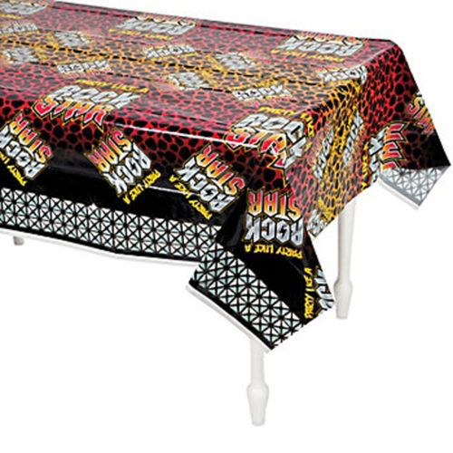 ROCK-STAR-PARTY-Tablecover-Tablecloth-137cm-x-274cm