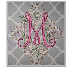"Adorn Monogram Set - 7"" 8"" 