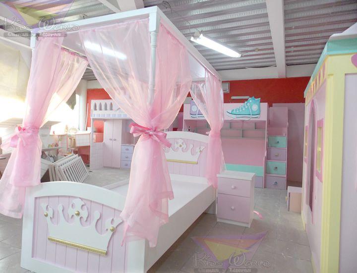 137 best recamaras de princesas images on pinterest - Cama princesa nina ...