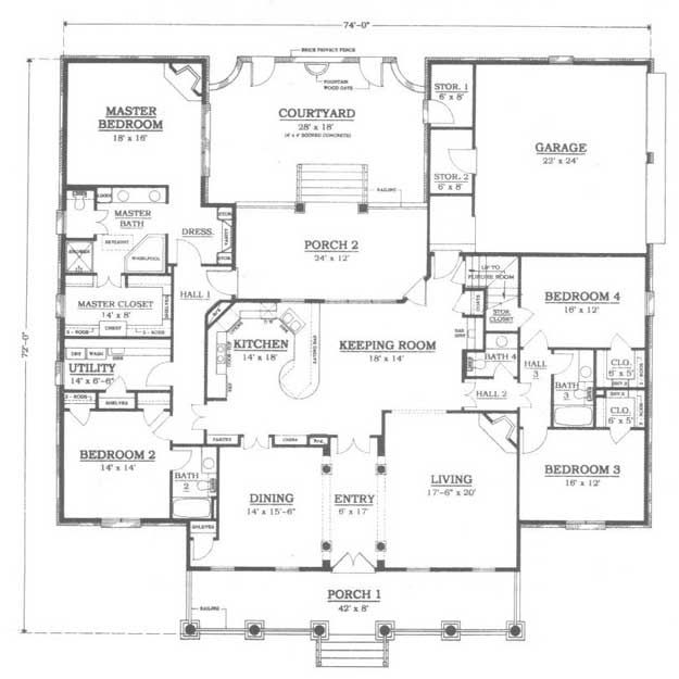 26 best images about floor plans on pinterest house for Ultimate garage plans