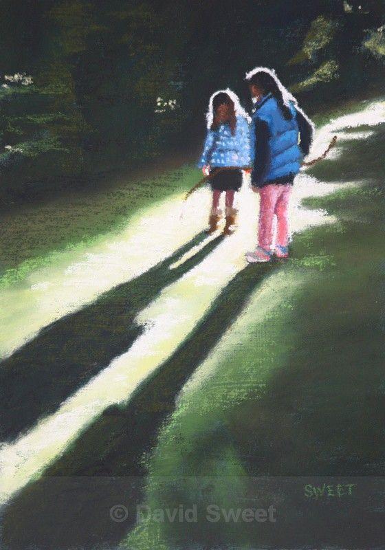 In Druid's Glen - Paintings