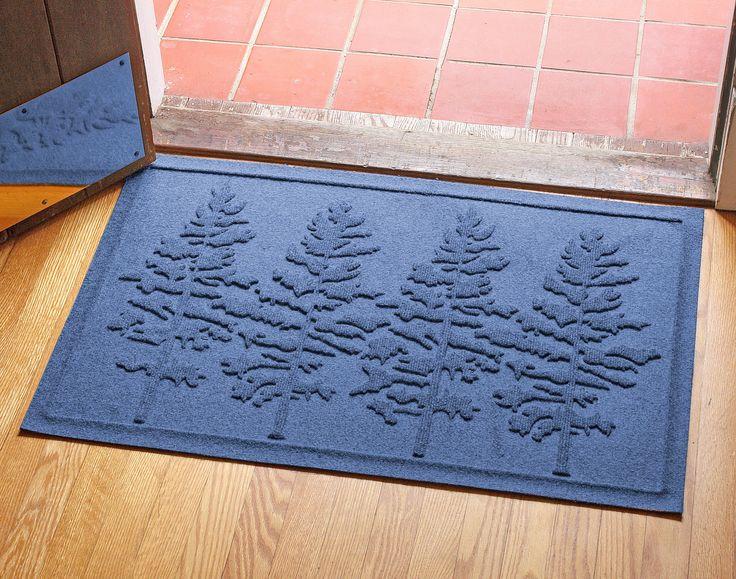 Aqua Shield Fir Forest Doormat Bungalow flooring, Door