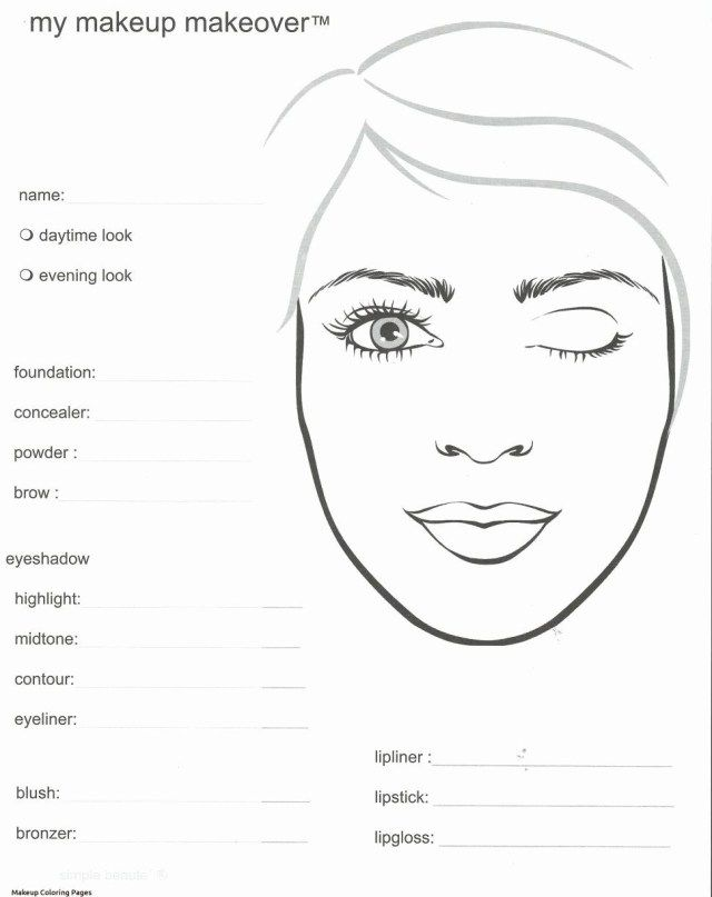 25 Excellent Photo Of Makeup Coloring Pages Mary Kay