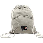 Philadelphia Flyers Hoodie Cinch Bag - Ash