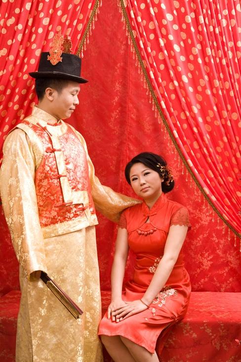 中国传统婚礼体验项目 A experience project which you can experience the Chinese traditional wedding.