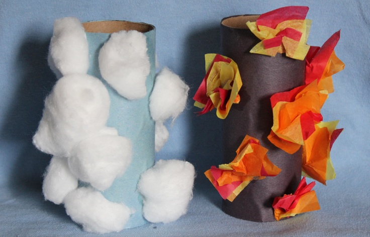 Pillar Of Fire And Of Cloud  Through this story the kiddos will learn that God is always with His children guiding them and protecting them.  http://craftingthewordofgod.com/2013/05/20/pillar-of-fire-and-of-cloud/