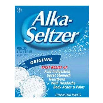 Cure UTI with Alka-Seltzer.