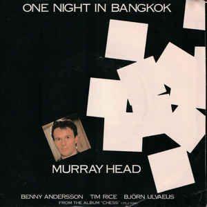 "Murray Head - One Night In Bangkok: buy 7"", Single at Discogs"
