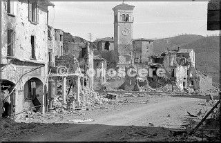 march 1945 view of castel d'aiano