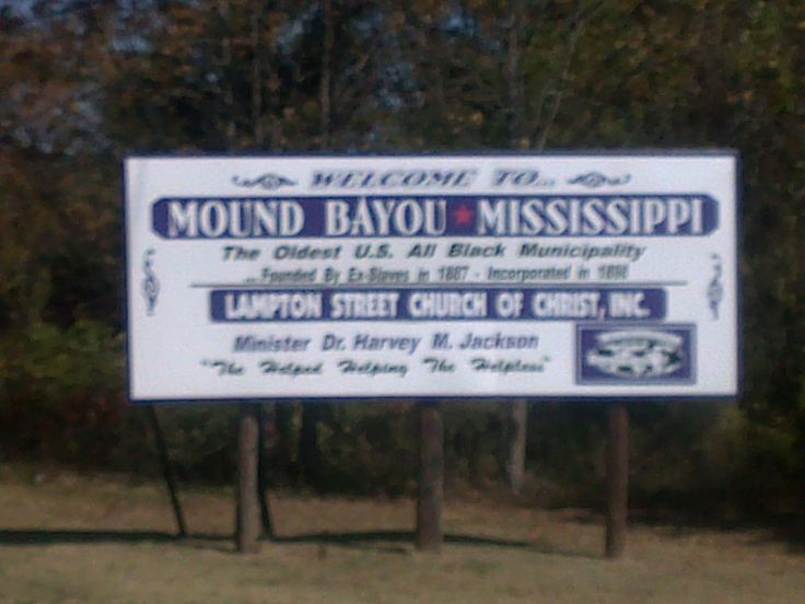 mound bayou black singles This was the mound bayou of 1910, a growing, progressive all-black community striving to achieve self-determination in a land where black self-determination was not accepted at all the next.