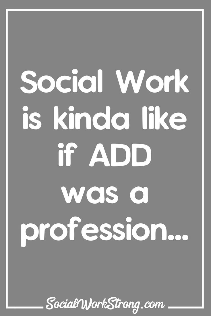 A million things at once... SocialWorkStrong.com