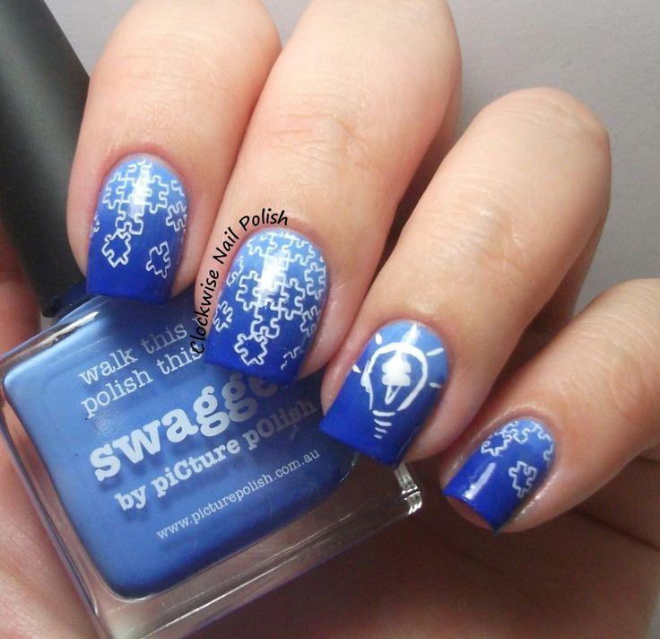 1000+ Ideas About Light Blue Nail Polish On Pinterest