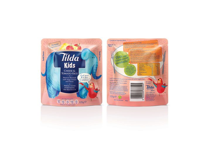 microwaveable rice-based meals for kids