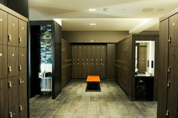 Locker room id fitness center pinterest equinox