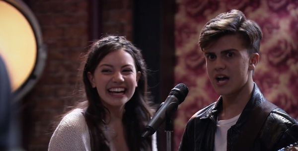 LUKE AND LEIA FROM LOST AND FOUND MUSIC STUDIOS!!