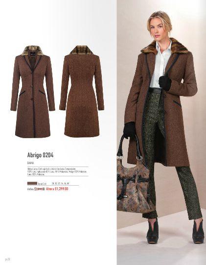 abrigo corte ajustado