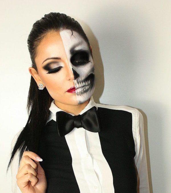 Mira este post y sorpréndete con todo lo que necesitas para disfrazarte de esqueleto. Hay versiones que seguro no sabías. #halloween #esqueleto #disfraz #costume