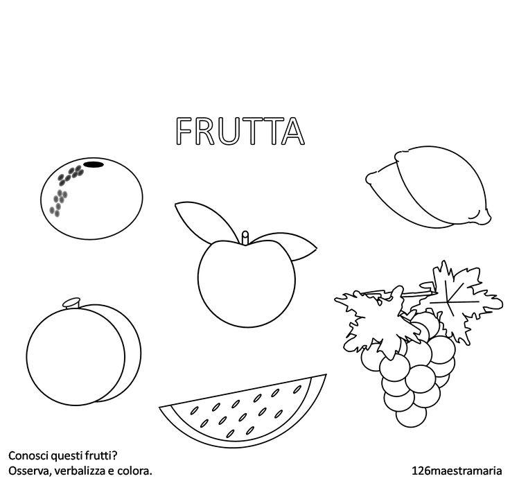 Schede didattiche da colorare sull' educazione alimentare.     Clicca per la raccolta dischede sull' alimentazione