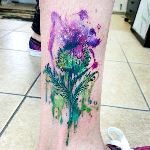 Scottish Thistle Tattoo Ideas: 17 Best Ideas About Thistle Tattoo On Pinterest