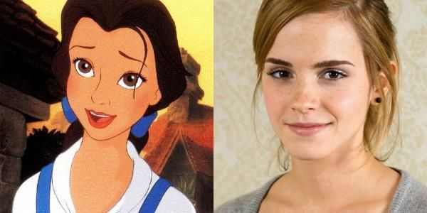 Emma Watson cast as Belle in Disney's upcoming live-action Beauty and the Beast