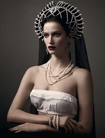 Vogue RussiaVoguerussia, Fashion, Inspiration, Russian, Mariano Vivanco, Vogue Russia, Russia April, Marta Berzkalna, April 2011
