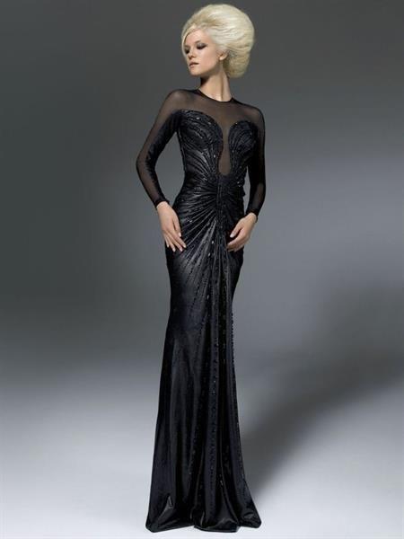 Версаче черное платье