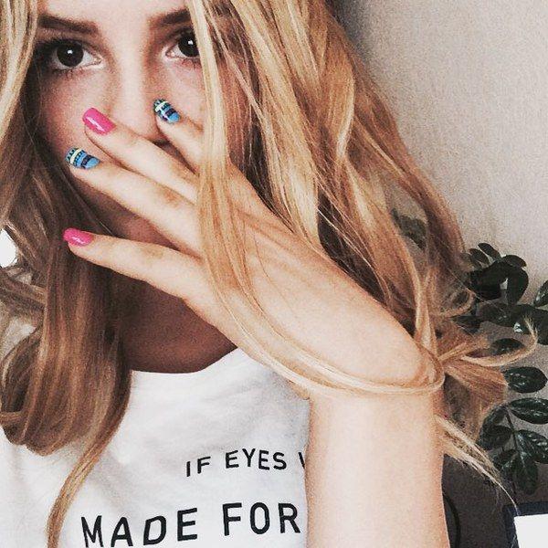девушки марьяны блондинок