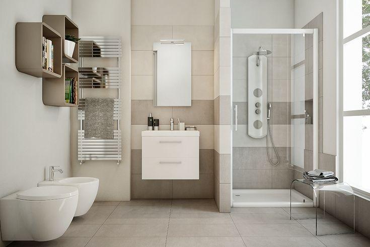 Oltre 25 fantastiche idee su idee per il bagno su - Idea bagno oggi ...