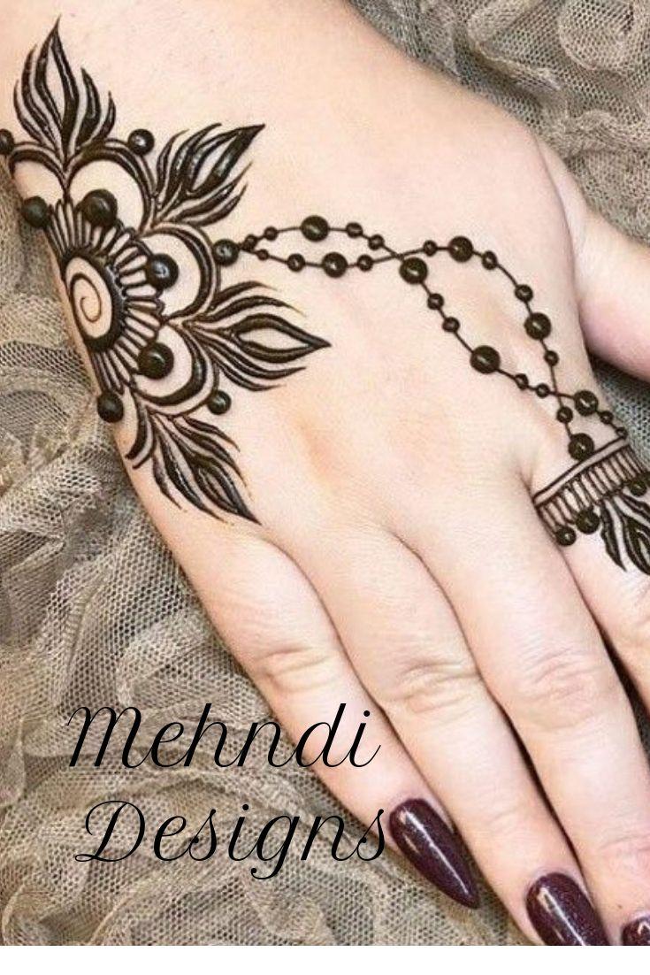 Simple Mehndi Designs, Beautiful Mehndi Designs