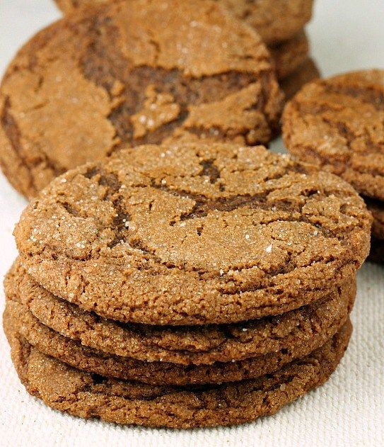 Molasses Cookies...Big ,soft chewy cookies that would be a perfect addition to your holiday cookie trays!