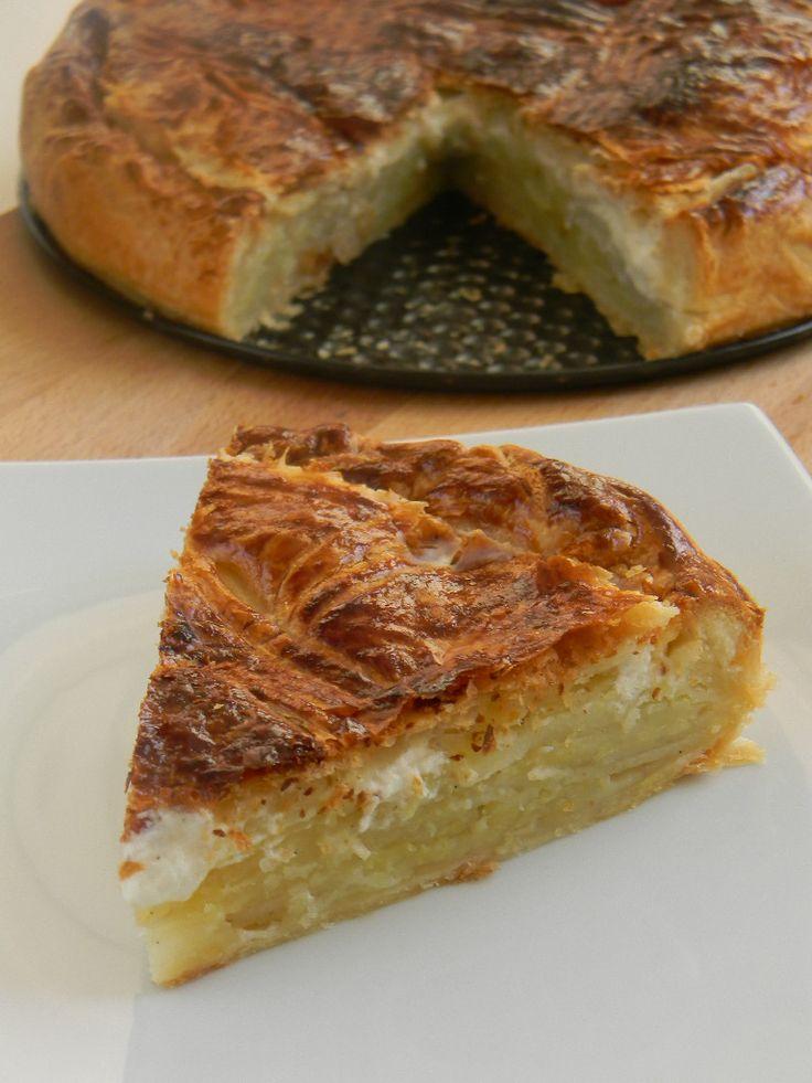 Pâté aux pommes de terre / Bourbonnais potato pie with parsley and garlic as well, south east of France
