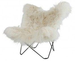Mariposa-fauteuil-vacht-wild-wit-Gerritsma-interieur-vlinderstoel