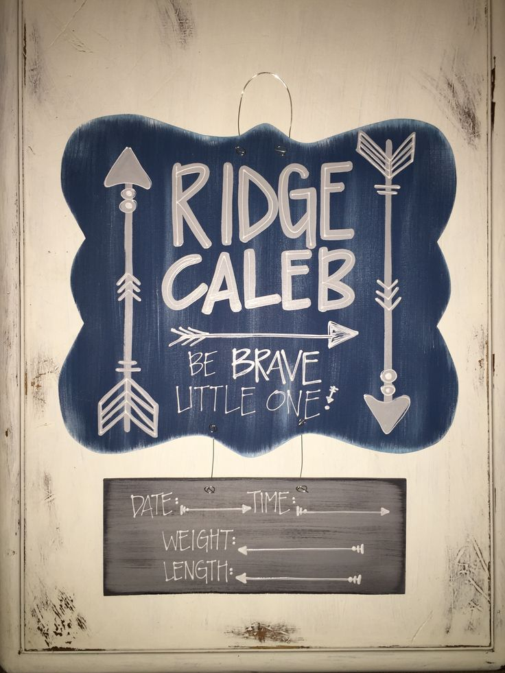 {hospital door hanger} be brave little one! // hospital door hanger