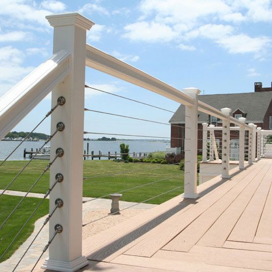 Cable Railing For Back Balcony Beautiful House