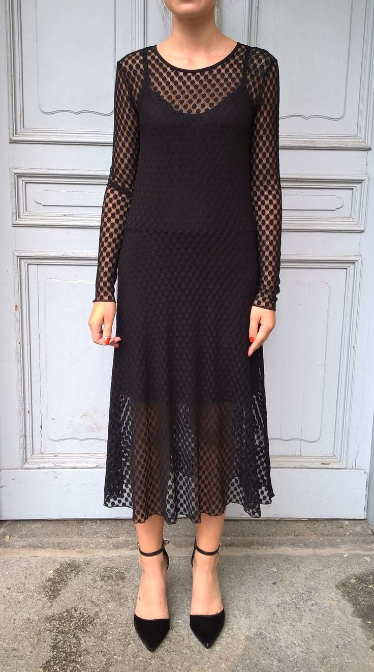 Dress Alice in black lace. Avaliable online: http://www.sofinah.fi/product/560/dress-alice-black