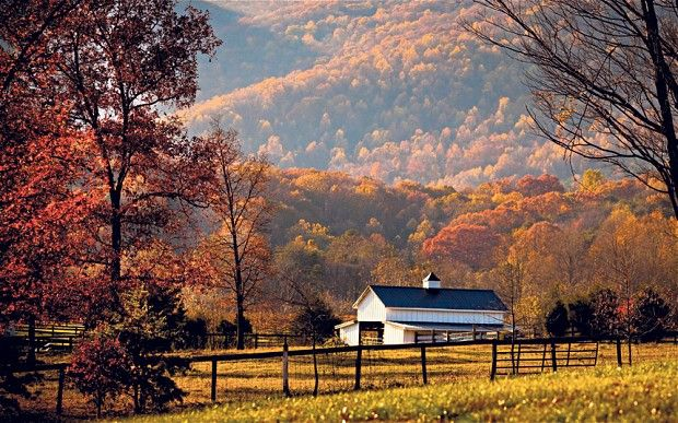It's always nice to see someone else fall in love with the most beautiful place on earth. :)  Virginia, USA: falling for autumn glories - Telegraph
