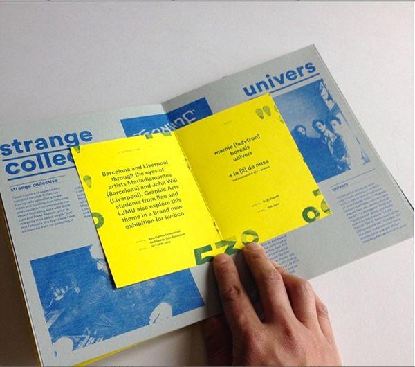 LIV-BCN 2015 press pack on Editorial Design Served
