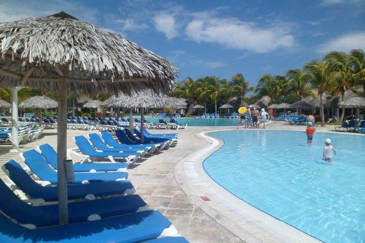 Stunning pools at Melia Las Dunas resort - Cayo Santa Maria, Cuba.