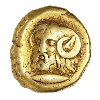 (Turkey) Greek Electrum Stater. Cyzicus, Mysia, Turkey. ca 410 BCE- 330 BCE.