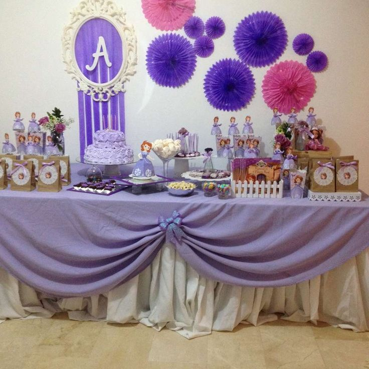 1st Birthday Table Ideas: 293 Best Images About Sofia The First Party Ideas On