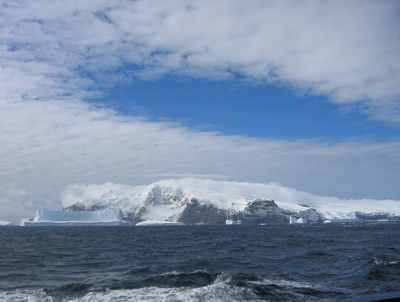 Bouvet Island, 19 square mile volcanic island in the South Atlantic