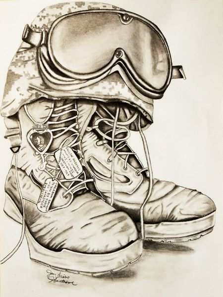 """Freedom, brought to you by those who made the ultimate sacrifice. Dedicated to those who have paid the ultimate price. Past' present and future soldiers. Freedom isn't free. Also honoring gold star families and all effected by the rigors of war  11""""x14"""" 60# paper graphite and charcoal mixed  #art #drawing #military"""