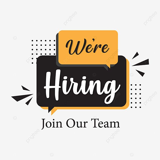 We Are Hiring Png Backgroun Design We Are Hiring Png Images We Are Hiring Vector Were Hiring Png Png And Vector With Transparent Background For Free Download In 2021 We Are