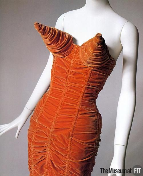 Dress by Jean Paul Gaultier, 1984 from  the Museum at FIT.