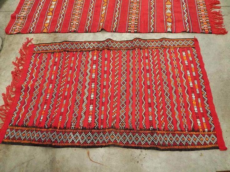Alfombra turca original hecha a mano tribal 20168 for Alfombras turcas baratas
